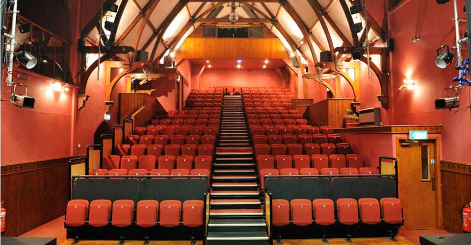 Lochside Theatre Auditorium - before the refurbishment.