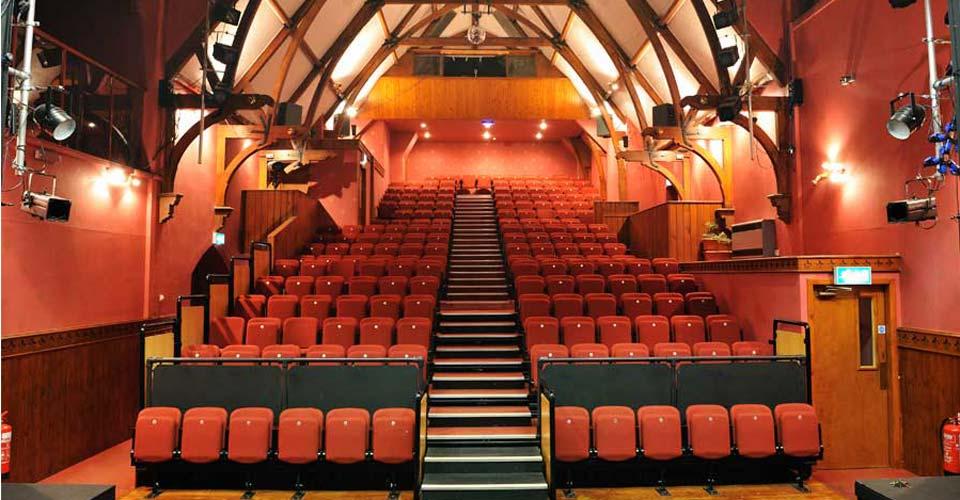Lochside Theatre Auditorium - before the refurbishment.